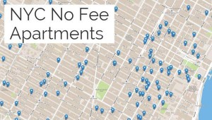 no fee apartments map