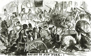May Day in New York