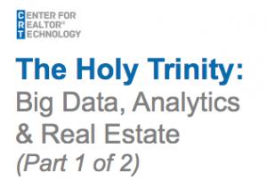 Real Estate and Big Data
