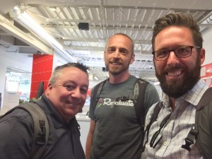 Jeff, Tim and Chris at Revaluate HQ