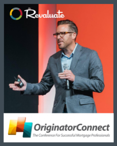 Revaluate CEO Chris Drayer to speak at Originator Connect in Vegas.