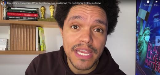 Trevor Noah of The Daily Show Racist Realtors